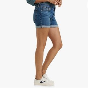 Lucky Brand The Roll Up Ladies EUC Jean Short 6/28